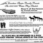 Theatre Lighting problems